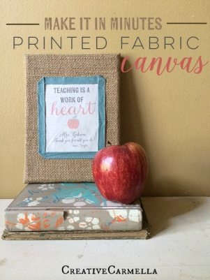 DIY personalized teacher gift