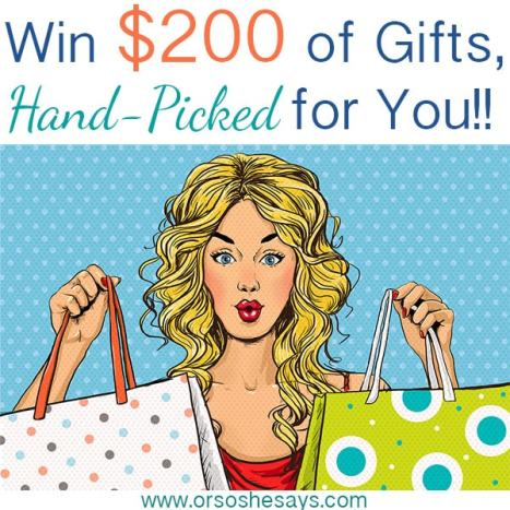 Win $200 of Hand Picked Gifts