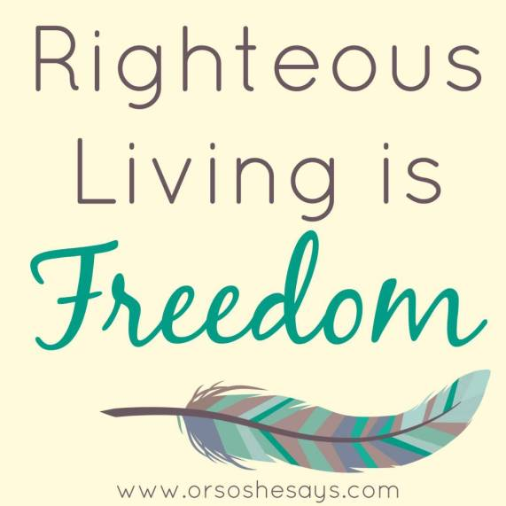 Protecting My Family From Pornography ~ Righteous Living is Freedom