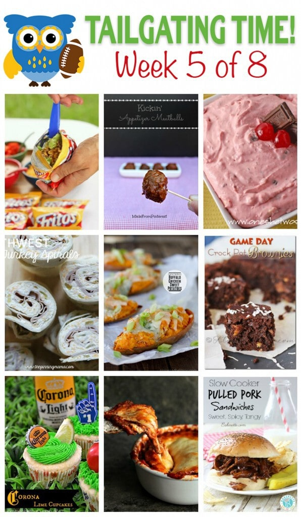 The Ultimate Tailgating Recipe Series Week 5 | When a group of talented bloggers come together to help you answer the question? What do I make for game day?