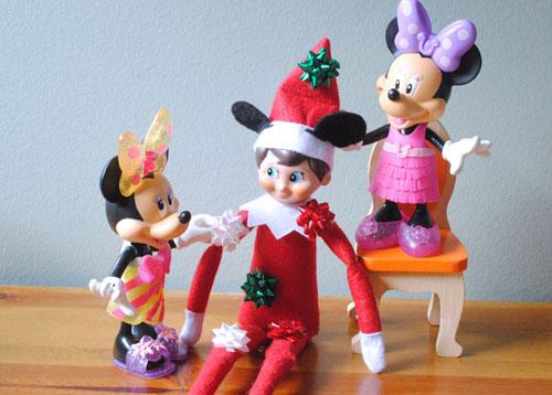 Elf On The Shelf Disney Style She Adelle