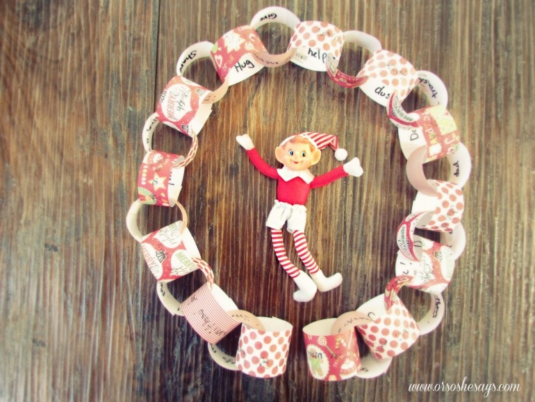 Nice List Advent Calender - A Fun DIY for the Kids!