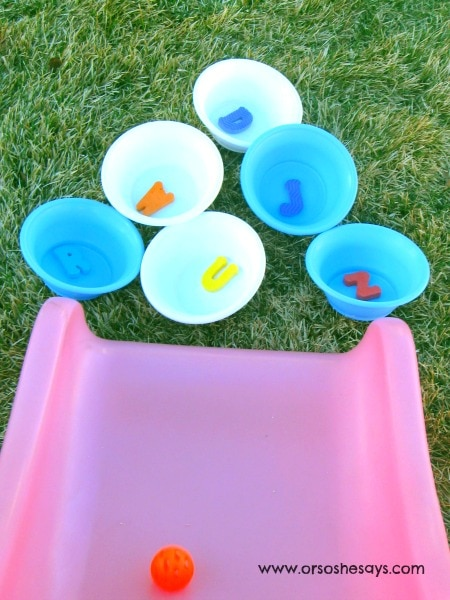 5 Creative Outdoor Games - Featuring the ABCs!