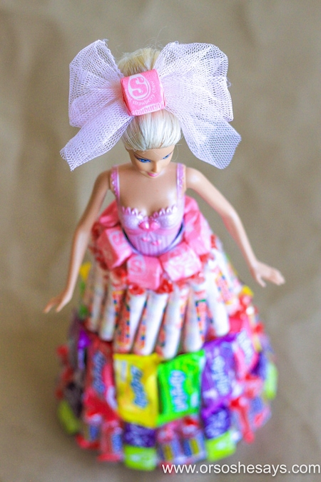 DIY Candy Doll- Or So She Says
