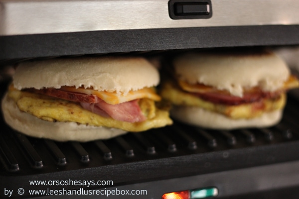 Ever heard of Brinner? That's Breakfast for Dinner, and it's an excellent choice. Today Leesh & Lu are sharing an omelet-style breakfast sandwich you'll want to add to your rotation, regardless of whether it's for breakfast, lunch, dinner or... BRINNER.