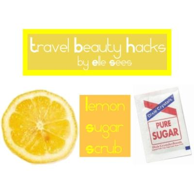 travel beauty hacks