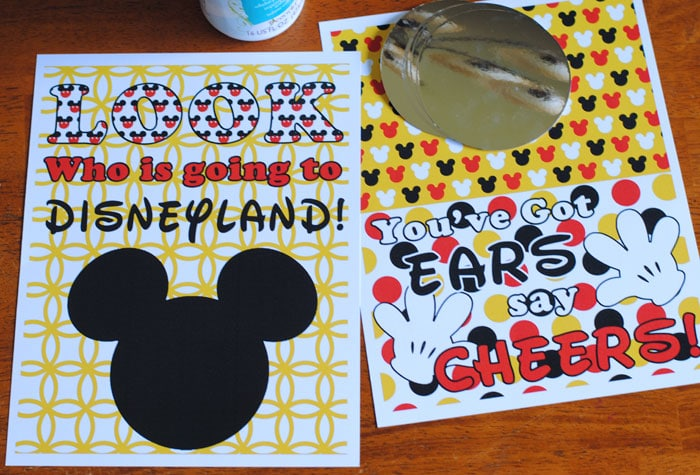 I think one of the best surprises for Christmas is a Disneyland vacation! So to help you reveal the big gift to your family, we have three free and easy Disneyland vacation surprise printables today on the blog. Check them out at www.orsoshesays.com!
