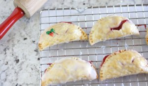 These mini cherry pies are a perfect dessert for any holiday gathering. Plus they are so easy to make, the kids can help!