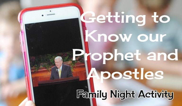 Come Listen to a Prophet's Voice - LDS General Conference Family Night. Get all the details on the blog today! www.orsoshesays.com