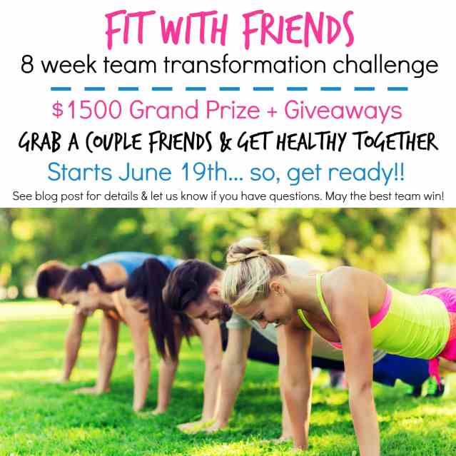 Grab a couple friends and join us, June 19th, for a TEAM health challenge! Your team can win $1500 bucks and everyone can win a stronger, healthier body!