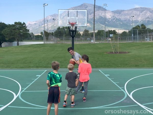 This family night lesson will help you teach your children the difference between a mistake and a sin using a fun basketball analogy. Get the lesson on www.orsoshesays.com.