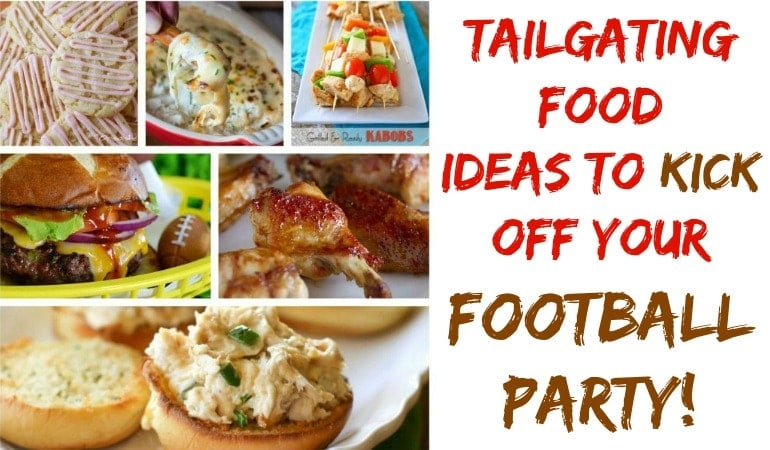 Tailgating Food ~ Appetizers and Desserts!!