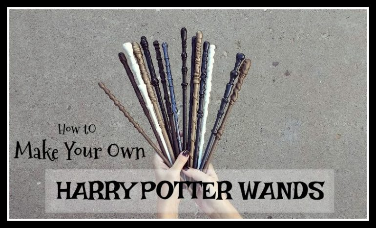 How to Make Your Own Harry Potter Wands (she: Elise)