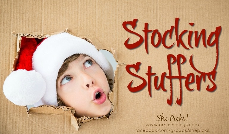 Stocking Stuffers ~ She Picks! 2017 Gift Guide
