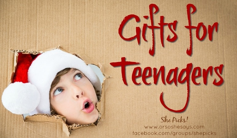 Gifts for Teenagers ~ She Picks! 2017 Gift Guide
