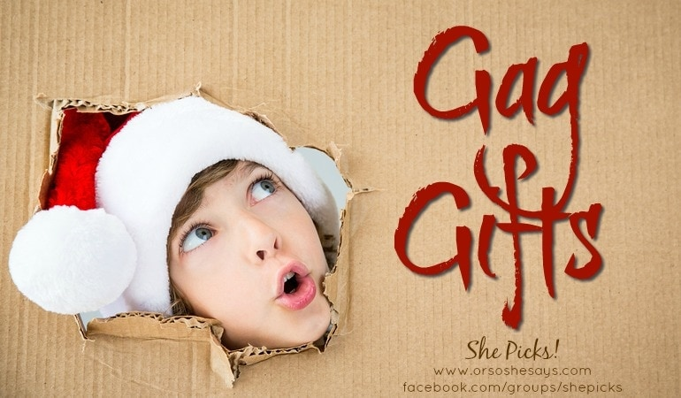 Gag Gifts for White Elephant Parties ~ She Picks! 2017 Gift Guide
