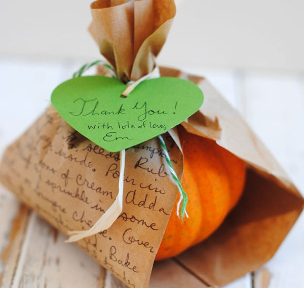 Little Pumpkin Baby Shower Favor