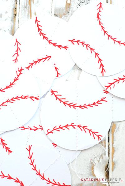 paperbaseballbuntingdecoration