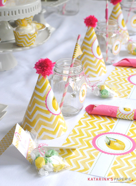 Lemon Birthday Party