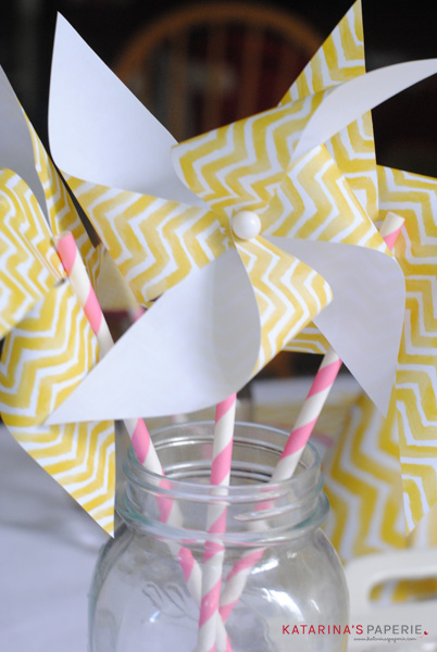 lemon pinwheel craft