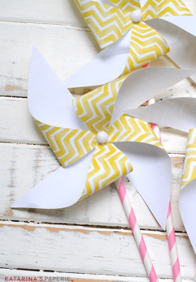 Lemon Party Pinwheels