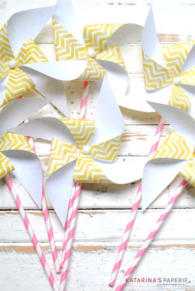 Lemon Party Pinwheels