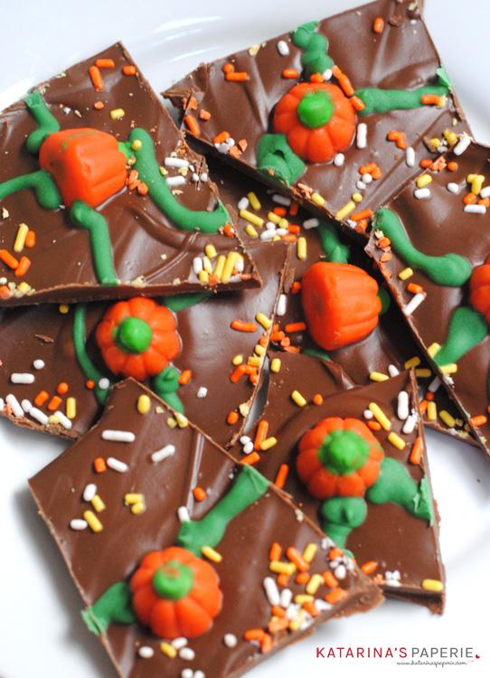Pumpkin Patch Candy Bark