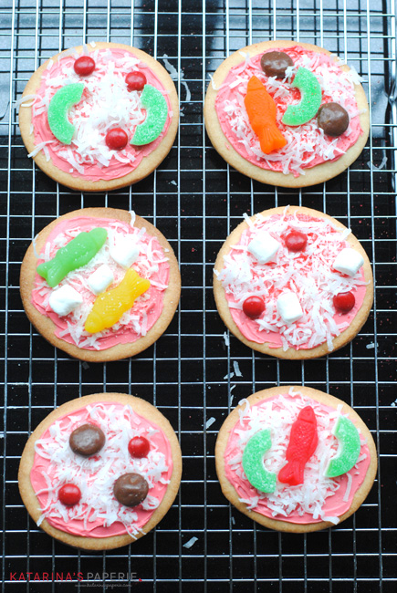 pizza cookie toppings