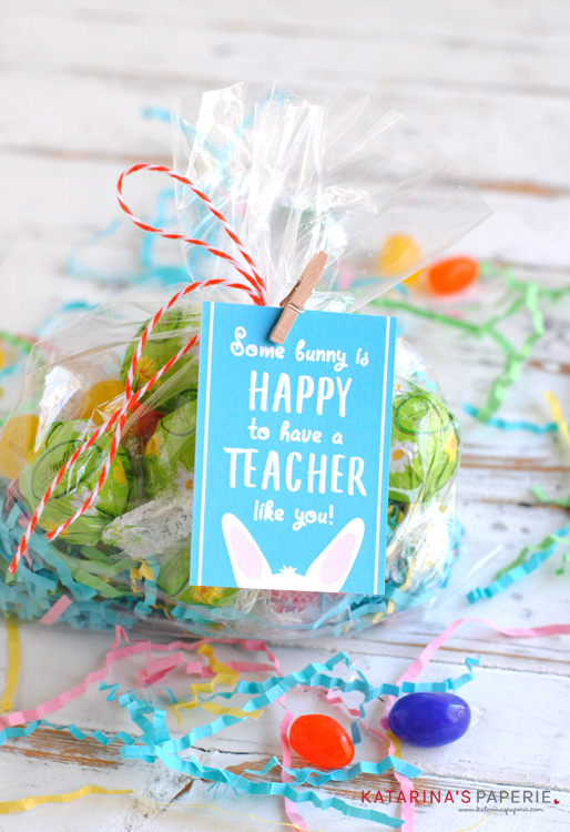 Free Printable Teacher Easter Gift Tags