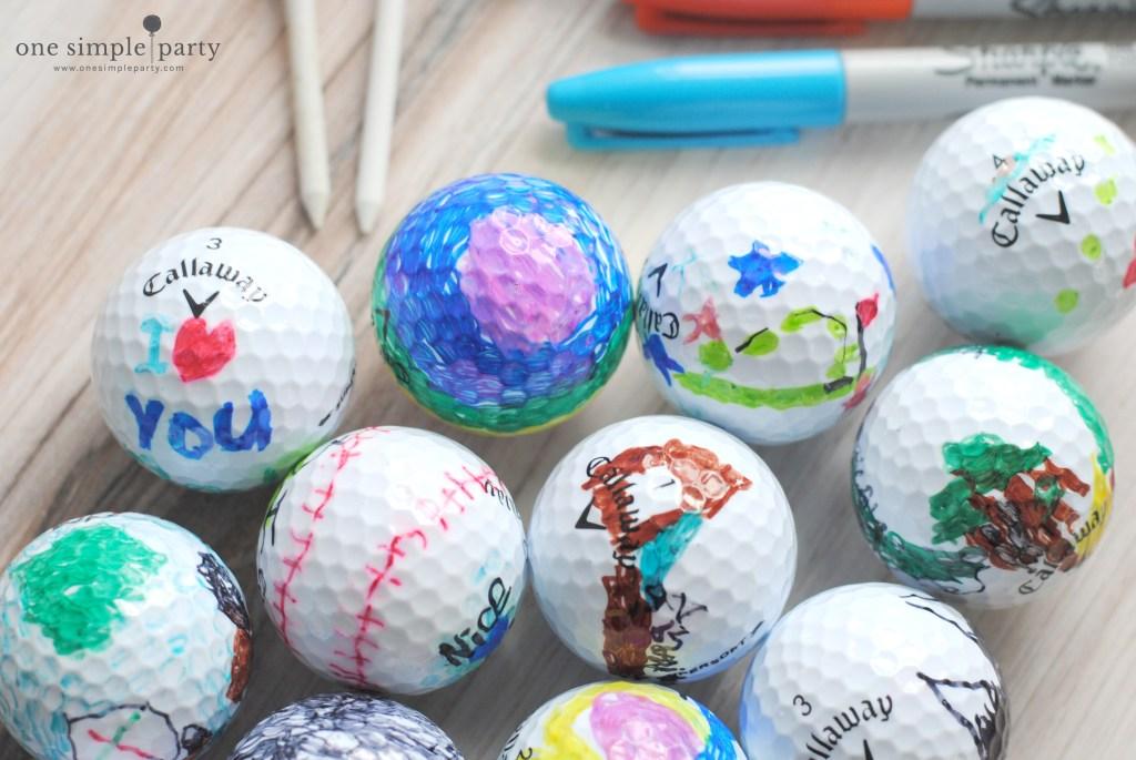 decorating-golf-balls-craft