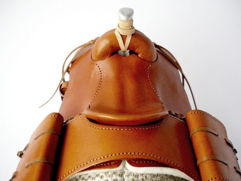 Tan saddle detail