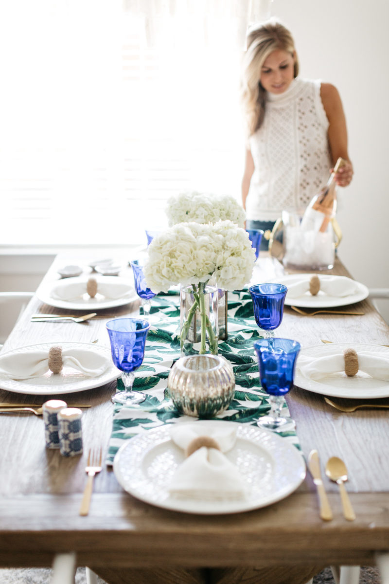 Summer Dining Table Decor Summer Dining Table Decor + Aerin Lauder X Williams Sonoma