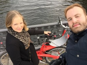 Det er en virkelig god oplevelse at leje bycykler i Hamborg.