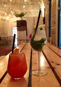 drinks at Mazel Tov