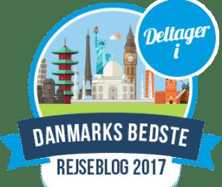 Danmarks bedste rejseblog
