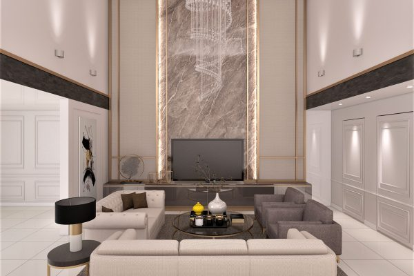 2) Living Room