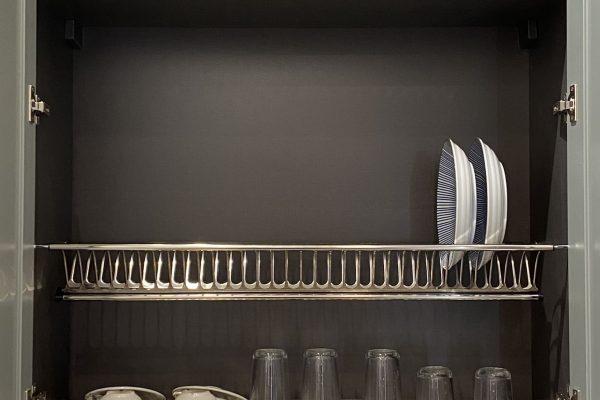 Kitchen Set 03-Stainless Steel Dish Rack1