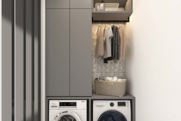 Laundry Cabinet a