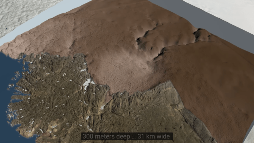 Greenland Crater 2018