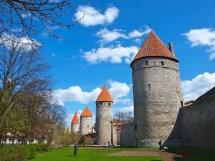 Tallinn Estonia Old Town Wall