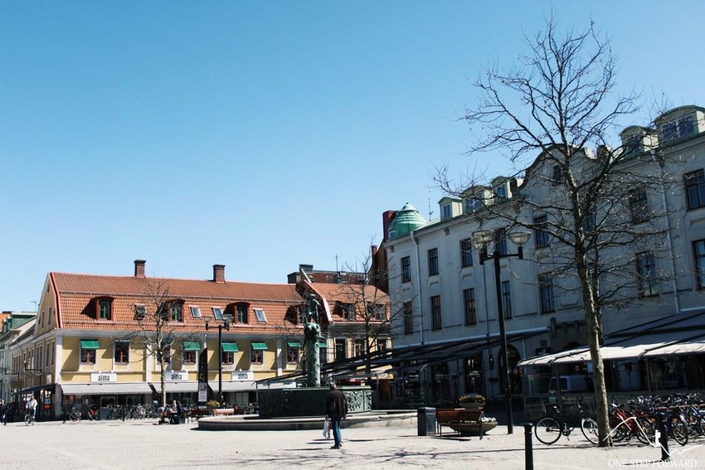 Plac Larmtorget w Kalmar