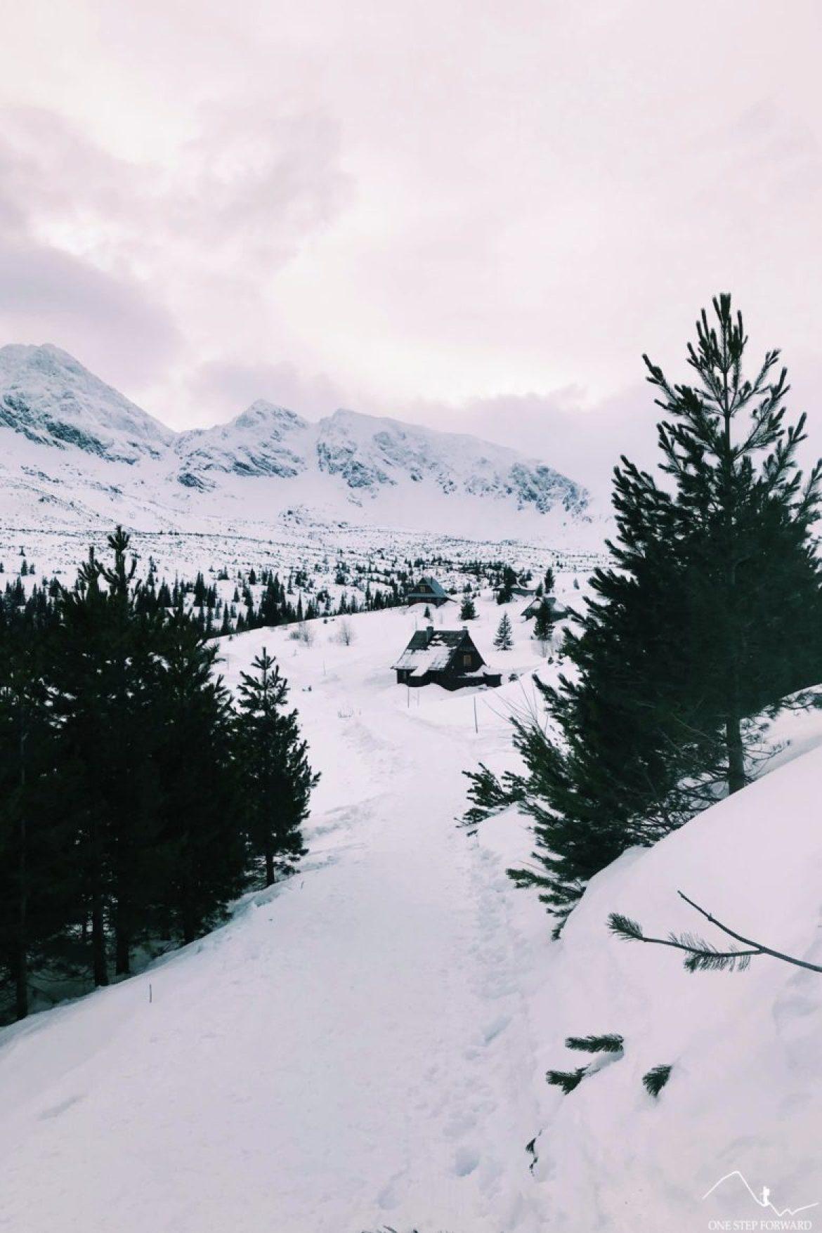 Wejście do tatrzańskiego raju