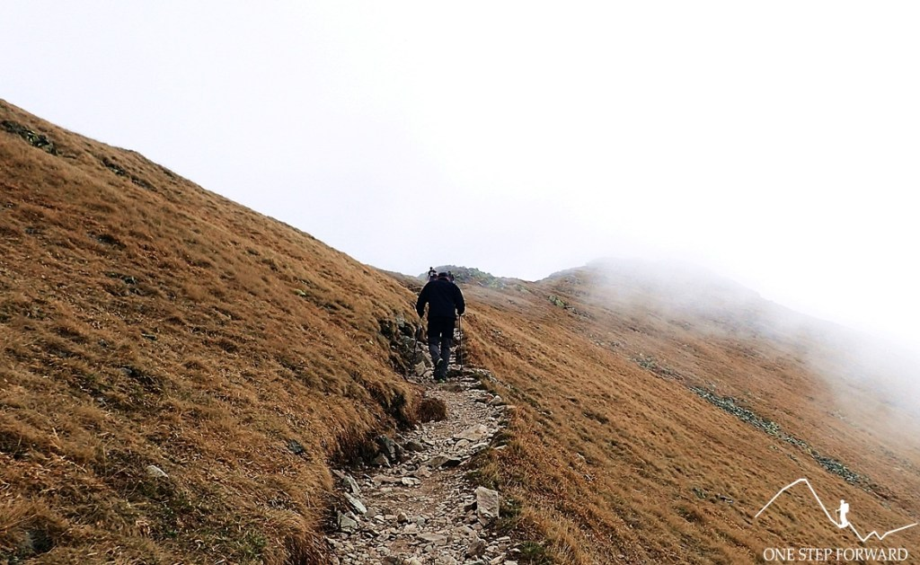 Podejście na Bystrą w Tatrach Zachodnich