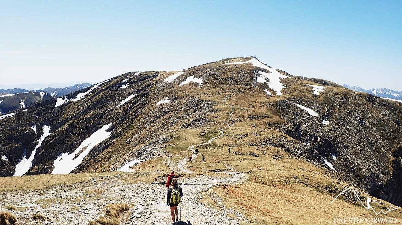 W kierunku Litworowej Przełęczy (2037 m n.p.m.)
