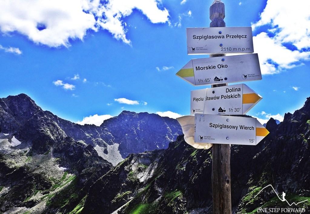 Szpiglasowa Przełęcz - Tatry Wysokie