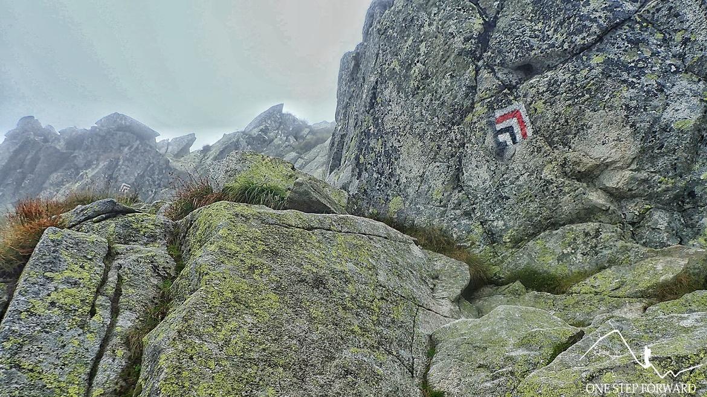 Kozi Wierch - szlak turystyczny