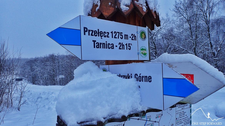 Niebieskim szlakiem na Tarnicę