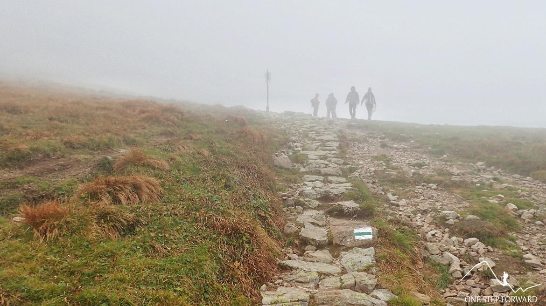 Przełęcz Liliowe - ostatnie metry podejścia