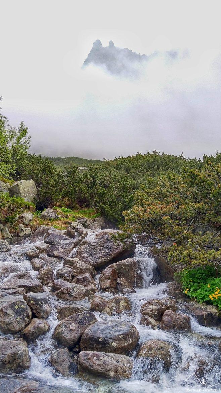 Chmury nad Żabim Potokiem (Nad Žabím potokom)