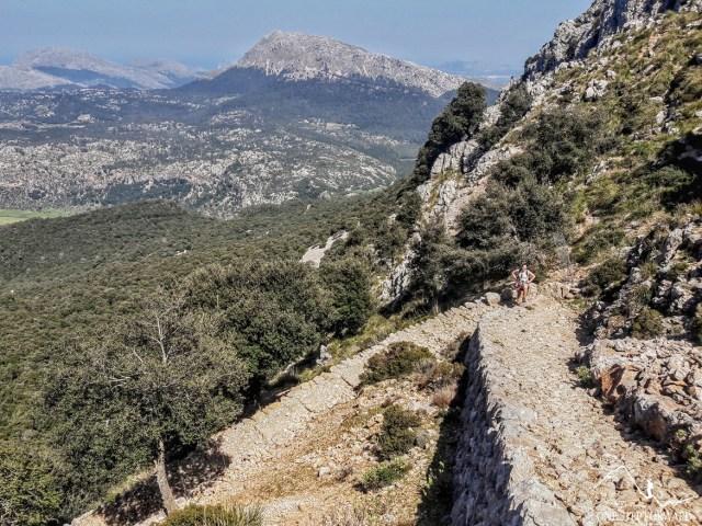 Trekking na Majorce - szlak na Puig d'en Galileu